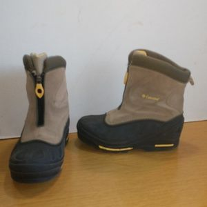 Columbia Bugazip Too Jr. Snow Boots Sz 3